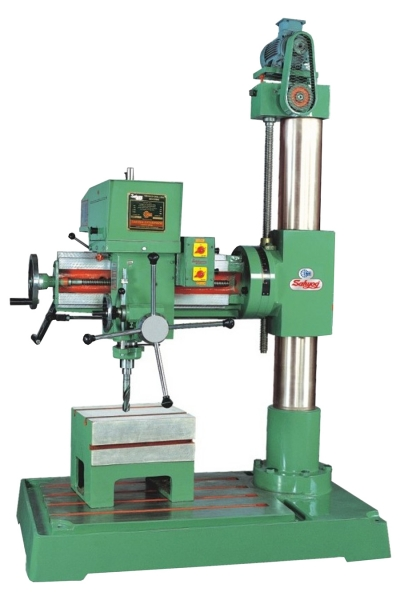 Universal Radial Drilling Machine With Hand Fine Feed Attachment (Model No. SER- I)